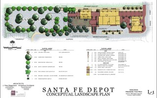 Concept-of-Commerical-Landscape-Plan-downtown-area-Redlands-CA